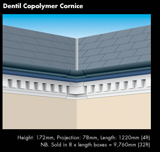 Dental Copolymer Cornice